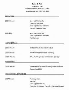 best resume templates simple download resume template With simple resume format free download