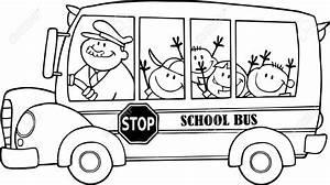 school clipart black white - Clipground