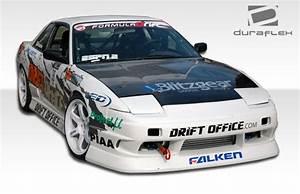 Nissan 240sx Hb Full Body Kit 89 90 91 92 93 94 - Bsport By Duraflex