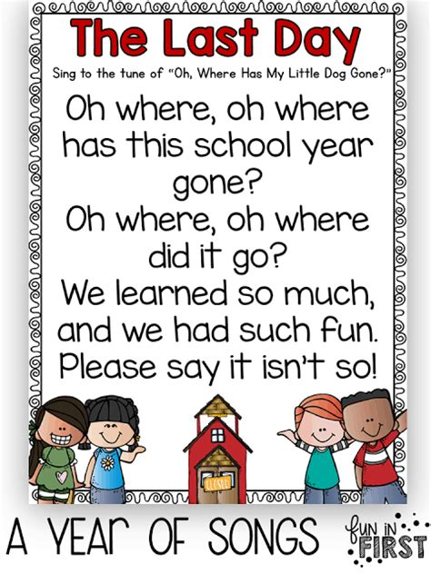 preschool graduation poems and songs songs archives in 211