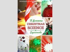 Christmas Science Activities and Experiments for Kids