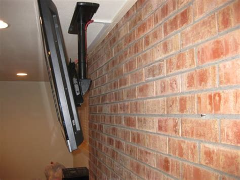 ceiling installation of a above a brick fireplace yelp