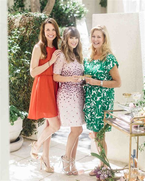 What Do I Wear To A Bridal Shower by The Etiquette Of Bridal Showers Martha Stewart Weddings