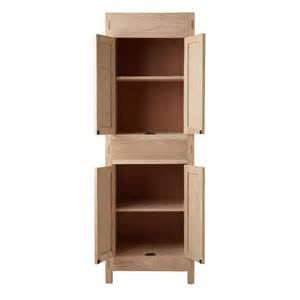 unfinished bathroom storage cabinets 72 quot unfinished