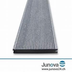 Graue Wpc Dielen : terrassendielen grau komplettpaket senso 18 m von junova 24 ~ Markanthonyermac.com Haus und Dekorationen