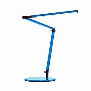 Z bar mini led desk lamp by koncept lighting ar3100 w for Z bar table lamp