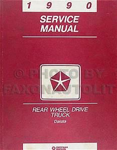 1997 Dodge Dakota Repair Shop Manual Original