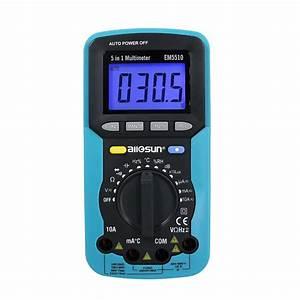 Alle Zon Em5510 Digitale Multimeter 5 In 1 Sound Level