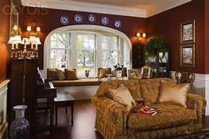 Sitting room with burgundy walls Home Decor Pinterest