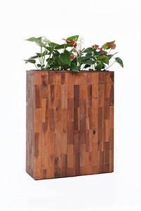 Raumteiler Aus Holz : pflanzk bel raumteiler elemento aus holz akazie 75x60x23 ~ Indierocktalk.com Haus und Dekorationen