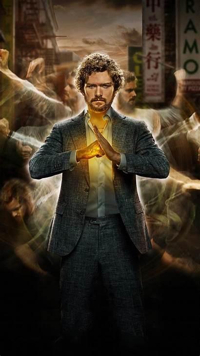 Fist Iron Phone Wallpapers Marvel Marvels Moviemania