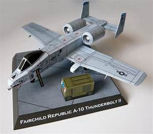 This Aircraft Paper Model Is A Fairchild Republic A
