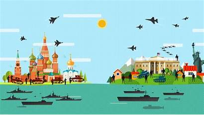 Usa Vs Animated Russia Navy Comparison Educational