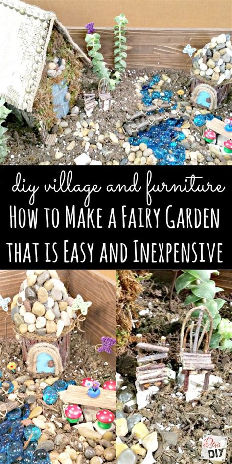 how to make a garden that is easy and inexpensive