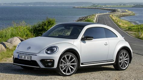 2017 VW Beetle R Line Interior, Exterior and Drive   YouTube