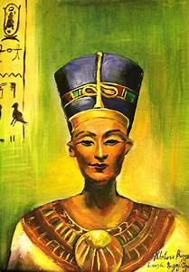 The gallery for --> Black Nefertiti Painting