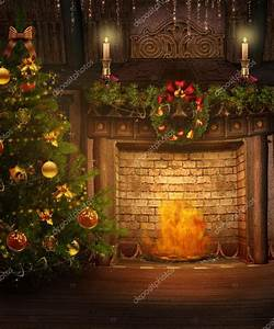 Christmas fireplace — Stock Photo © FairytaleDesign #13664411