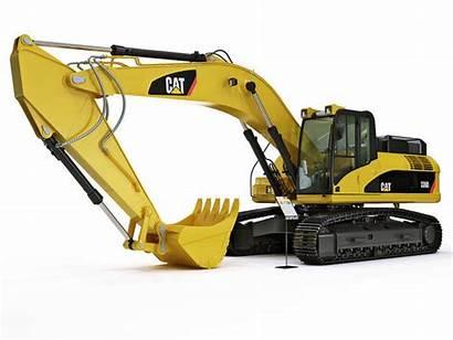 Excavator Equipment Cat Caterpillar Cgtrader 336d Trotuare