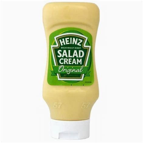Heinz Salad Cream Top Down 425g (squeezy)