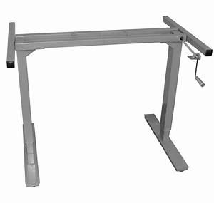 Manual - Adjustable Height Desk Frame