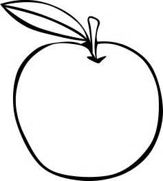 Apple Outline Clip Art