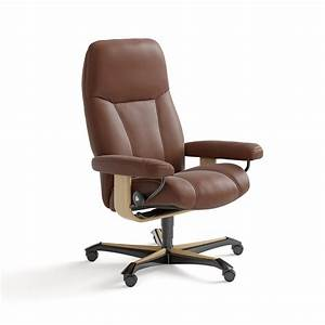 Stressless, Consul, Medium, Stressless, Consul, Office, Chair