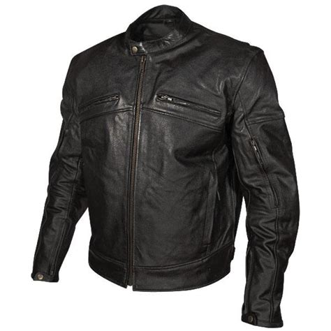 motorcycle jackets for men with armor xelement armored mens black leather motorcycle jacket size