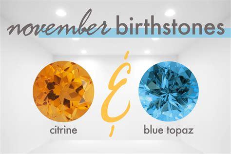 birthstone color for november birthstones november