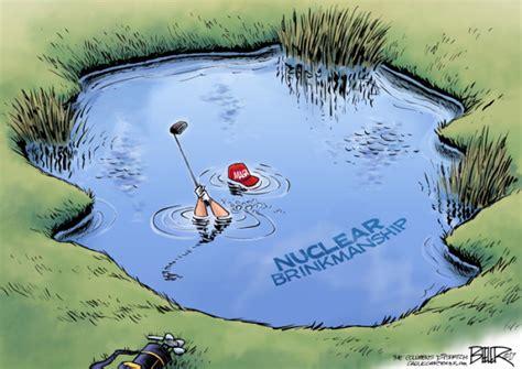 cartoons   donald trump   golf