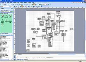 Using Microsoft Visio To Reverse Engineer A Database
