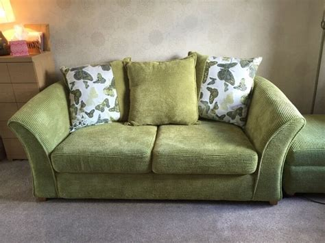 green chenille sofa dfs lime green chenille sofa bed in frodsham cheshire