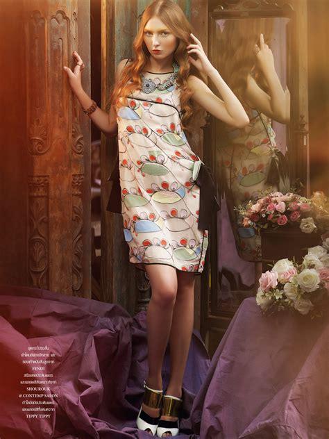 Daria Fomina In Gucci For Lofficiel Thailand February 2013