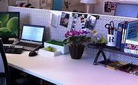 lovely office decor themes Amazing of Top Lovely Cubicle Decor Ideas And Fresh Flowe ...