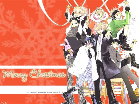 everything of ouran omg i cant believe that christmas is