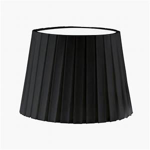 Lampenschirm 15 Cm Durchmesser : lampenschirm aus textilgewebe plisse in schwarz h he 17 cm durchmesser 24 5 cm wohnlicht ~ Bigdaddyawards.com Haus und Dekorationen