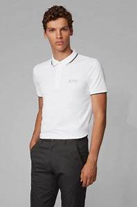 Boss Regular Fit Piqué Polo Shirt With Quick Dry Technology