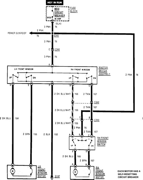 1985 Gm Window Switch Wiring by Need To The Wiring Diagram For Driver Side 1985 Chevy