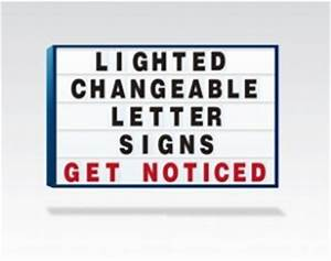 lighted marquee signs outdoor lighted marquee signs With lighted changeable letter signs