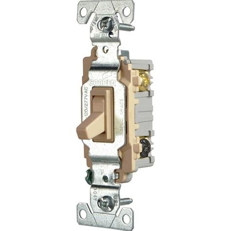Eaton Commercial Grade Amp Way Toggle Switch With