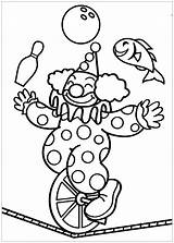 Circus Coloring Pages Printable Simple Children Sheet Adult Onlinecoloringpages sketch template
