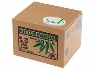 Electronic Money Box Little Panda  Free Shipping