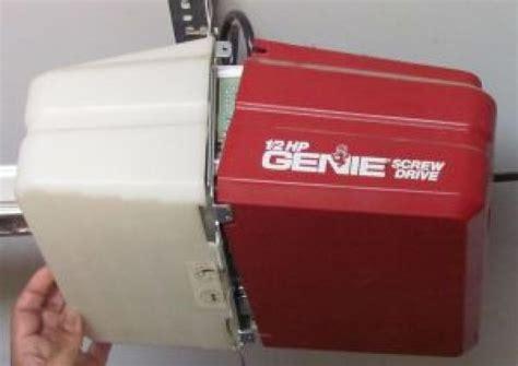 www genie garage door opener garage door 187 how to reset a genie garage door opener