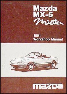 car repair manuals online free 1991 mazda mx 5 spare parts catalogs 1991 mazda mx 5 miata repair shop manual original