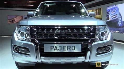 mitsubishi pajero 2017 2017 mitsubishi pajero long instyle 3 2 diesel exterior