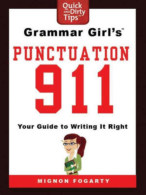 grammar girls punctuation  mignon fogarty macmillan