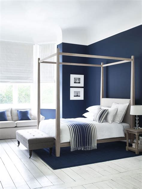 Navy Blue And White Bedroom by Best 25 Blue Bedrooms Ideas On Navy
