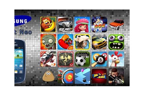 samsung galaxy s i9003 jogos de baixar
