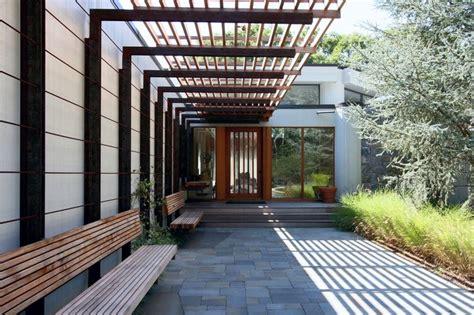 east hampton residence steel pergola pergola shade structure