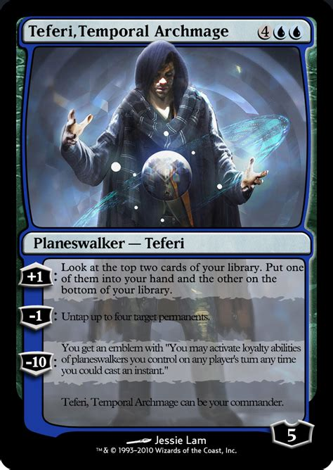 Teferi Commander Deck Upgrade by Teferi Archmage Commander Deck 28 Images Commander