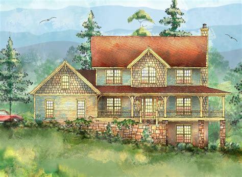 Mountain Home With Wrap-around Porch